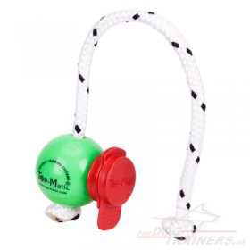 Grüner Top-Matic FUN MINI Ball mit Maxi Power-Clip