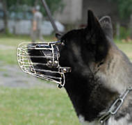 Wire Basket Dog Muzzle for Siberian Husky