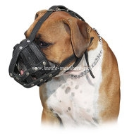 Boxer Everyday Light Weight Ventilation Dog muzzle