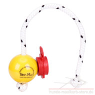 Fun Ball Mini SOFT gelb mit rotem Magnet-Clip Top-Matic