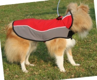 Hundemantel für Sheltie | Wasserdicht + Fleece ❉