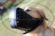 K9 Maulkorb für Golden Retriever | Hundemaulkorb Geschlossen?