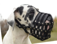 Dog Muzzle Great Dane | Leather Muzzle Perfect Ventilation