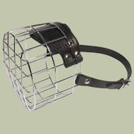 Large size Wire Basket Dog Muzzle for big size dog breeds