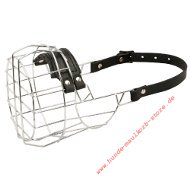Large Wire Basket Dog Muzzle for Boxer