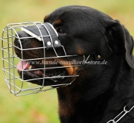 Rottweiler Best Wire Dog Muzzle