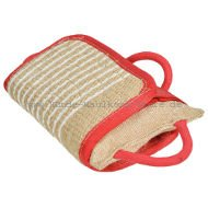 Jute bite pad for dogs | Syntetic pillow Top Quality