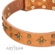"Lederhalsband ""Top-Flight"" von Artisan FDT"