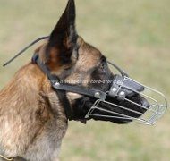 Wire Basket Dog Muzzle for Malinois Best Offer!
