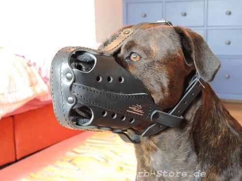 Hundemaulkorb für Polizei- und Diensthunde mit Schnalle Verschluss
