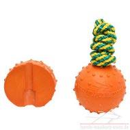 Gummiball für Wasseraktivitäten und Wurfspielzeuge