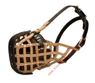 Large breeds leather police style dog muzzle, Top Quality!