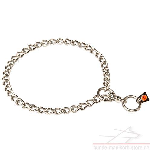 Herm Sprenger Edelstahl Halskette mit kleinen Gliedern