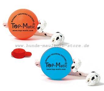 Top-Matic MIX-Set Magnetsystem Hundeball mit Magnet fürs Training