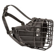 K9 Dog Muzzle Combined | Wire Basket Muzzle for Every Weather