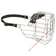 Wire Large Basket Dog Muzzle for Cane Corso